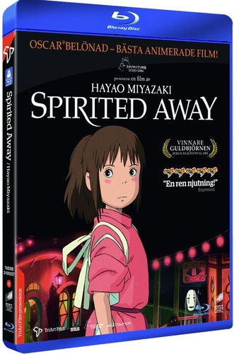 Spirited Away bluray