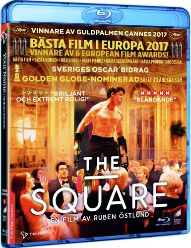 The Square bluray