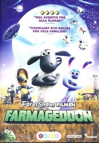 Fåret Shaun Filmen - Farmageddon DVD