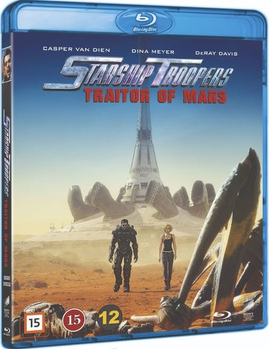 Starship Troopers: Traitor Of Mars bluray