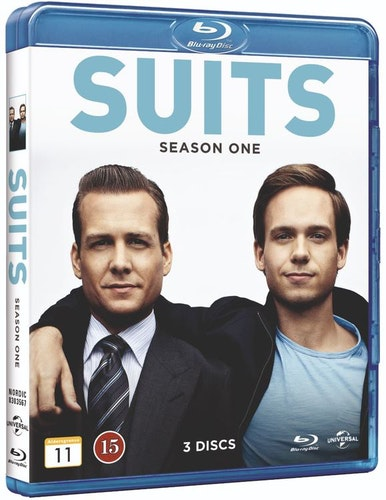 Suits - Säsong 1 bluray UTGÅENDE