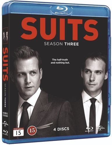 Suits - Säsong 3 bluray UTGÅENDE