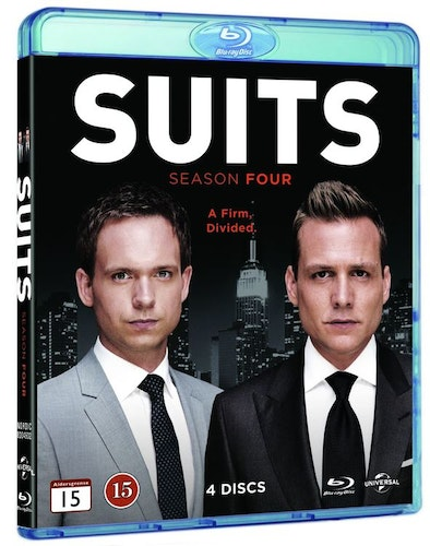 Suits - Säsong 4 bluray