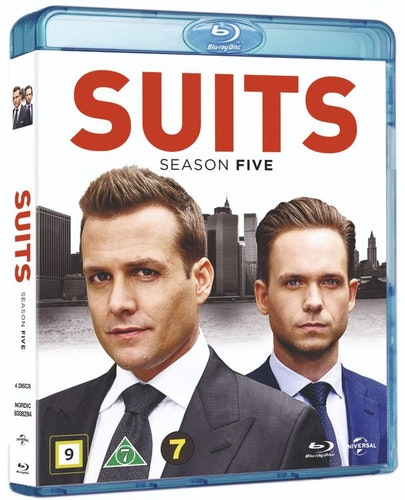 Suits - Säsong 5 bluray UTGÅENDE