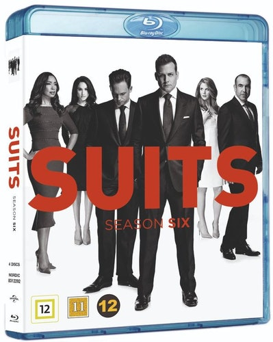 Suits - Säsong 6 bluray
