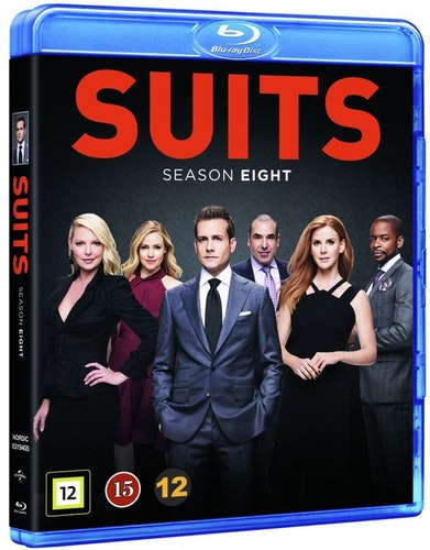 Suits - Säsong 8 bluray
