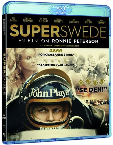 Superswede: En film om Ronnie Peterson bluray