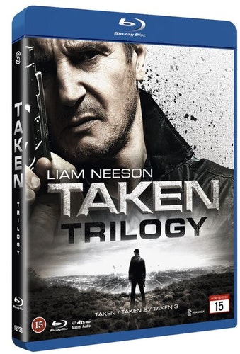Taken 1-3 trilogi bluray UTGÅENDE