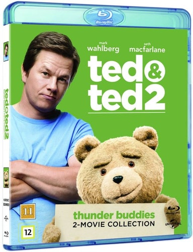 Ted 1 + 2 bluray