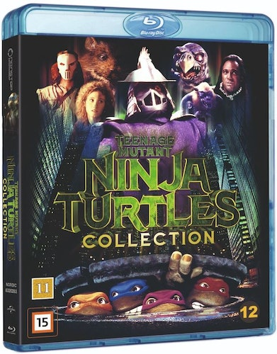 Teenage Mutant Ninja Turtles - Collection bluray