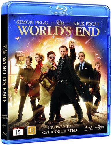 The World's End bluray
