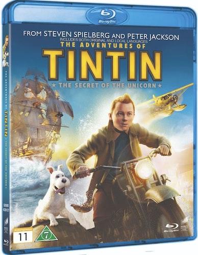 Tintins Äventyr: Enhörningens Hemlighet (2011) bluray