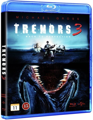 Hotet från underjorden 3/Tremors 3: Back to Perfection bluray