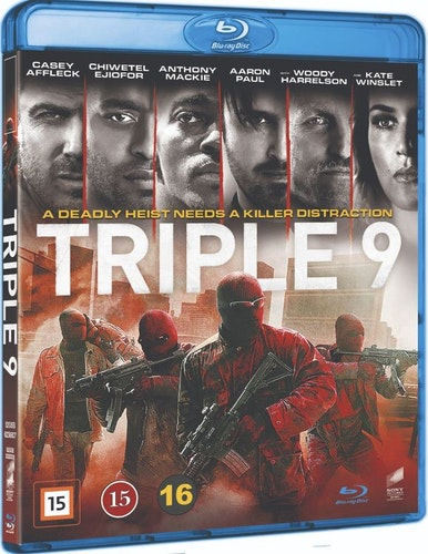 Triple 9 bluray