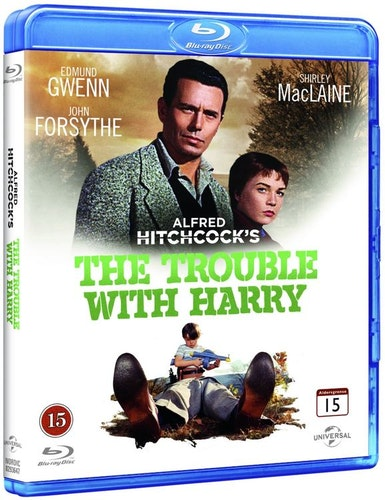 Ugglor i mossen/trouble with harry bluray