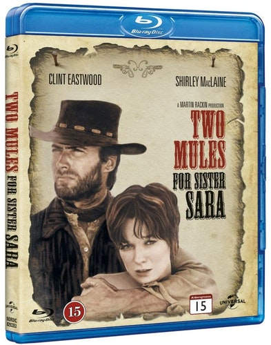 Two Mules for Sister Sara bluray