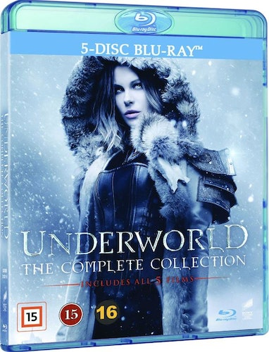 Underworld - The Complete Collection 1-5 bluray