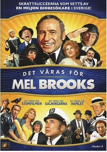 Det våras för Mel Brooks DVD