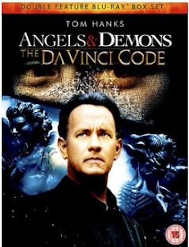 Angels & Demons + The Da Vinci Code Blu-Ray (import med Sv text)