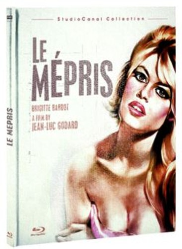 Le Mepris bluray (import med Sv text)