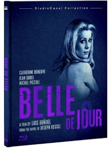 Belle De Jour bluray (import med Sv text) digibook