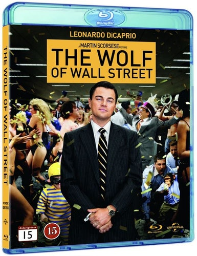 The Wolf of Wall Street bluray
