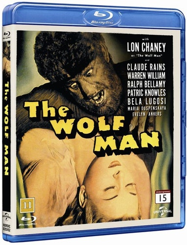 The Wolfman bluray