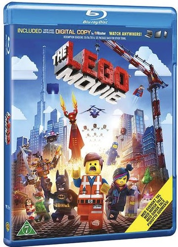 Lego: The Movie bluray (beg)