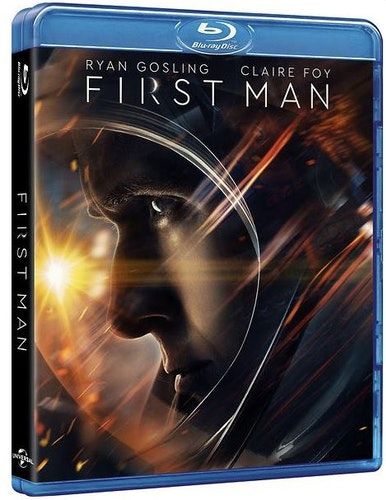 First Man bluray (beg)