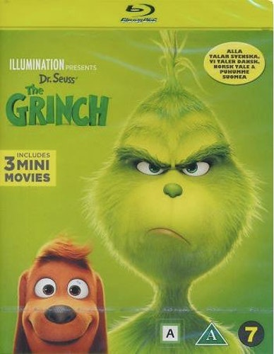 The Grinch bluray (beg)