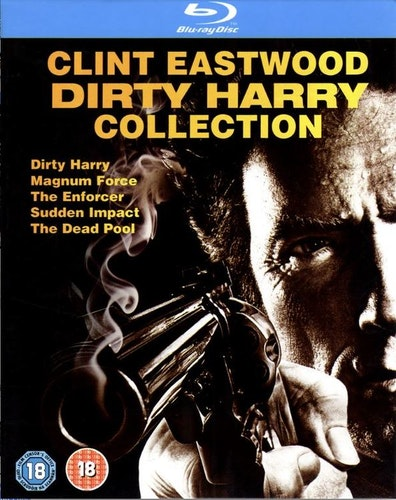 Dirty Harry Collection bluray (import)