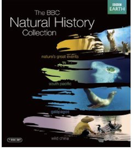 The BBC Natural History Collection bluray (import)