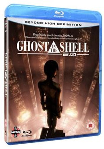 Ghost In The Shell 2.0 Blu-Ray (import)