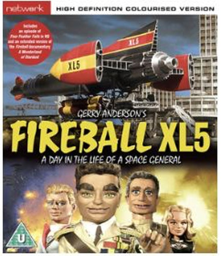 Fireball XL5 - A Day In The Life Of A Space General bluray (import)