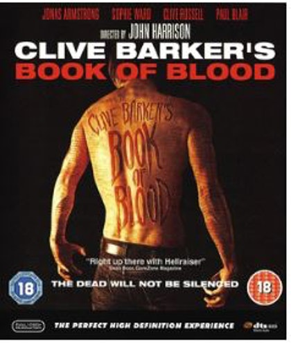 Clive Barker's Book of Blood bluray (import)