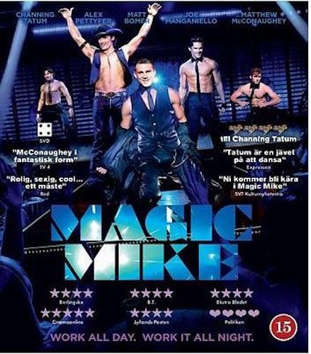 Magic Mike DVD (beg)