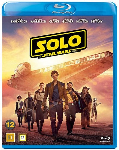 Solo: A Star Wars Story bluray