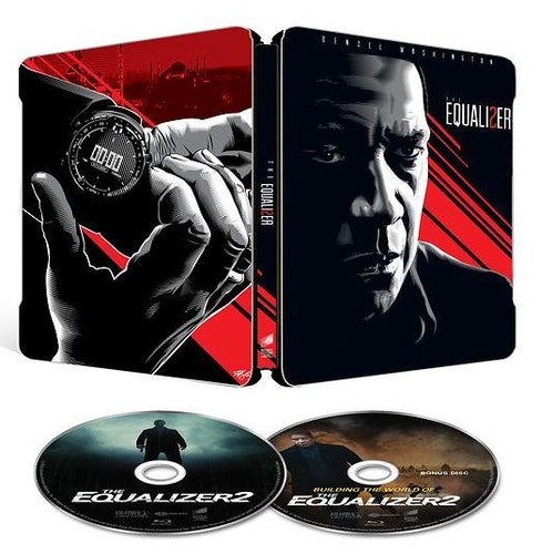 The Equalizer 2 - SteelBook bluray