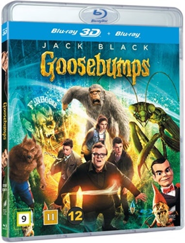 Goosebumps (3D) bluray