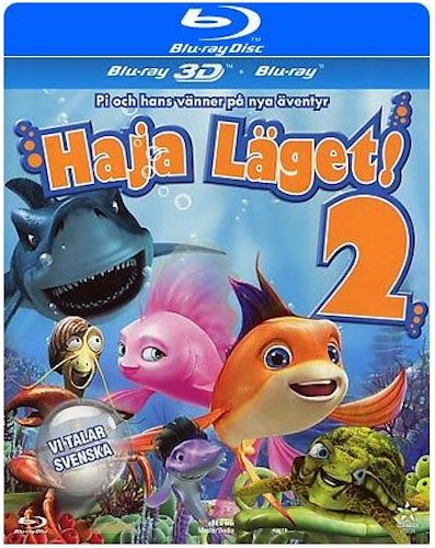 Haja läget 2 3D bluray