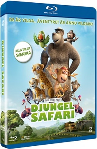 Djungelsafari bluray