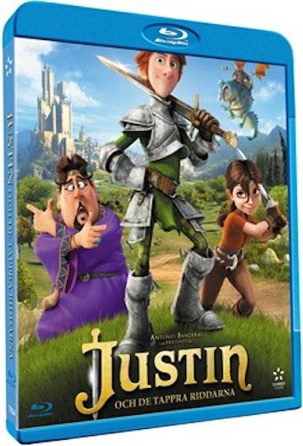 Justin Och De Tappra Riddarna bluray