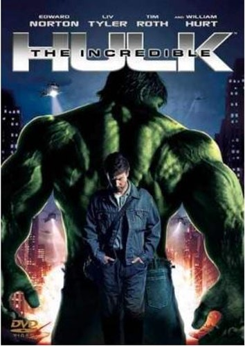 Den Otrolige Hulken 2008 DVD (beg hyrdvd)