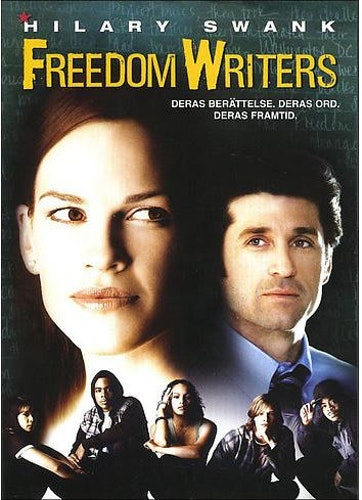 Freedom Writers DVD (beg) import med Sv text