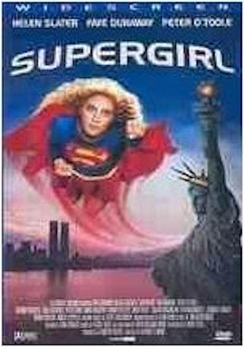 Supergirl DVD (beg) ex-rental i OK skick
