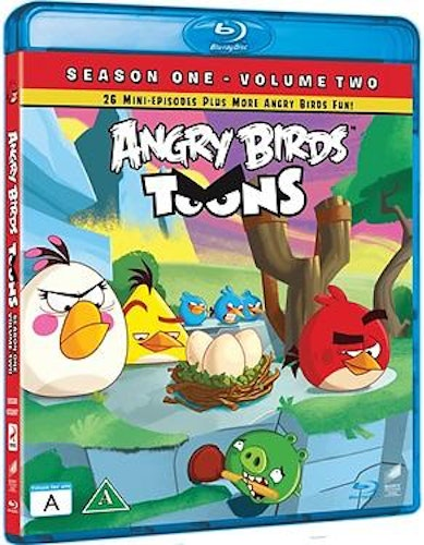 Angry Birds Toons - Säsong 1, Vol. 2 bluray