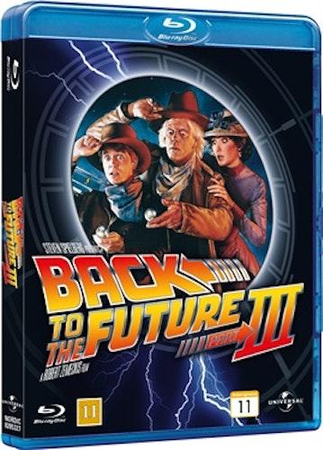 Tillbaka Till Framtiden - Del III bluray