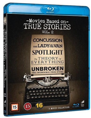 Movies Based on True Stories - 5-Movie Collection - Vol. 2 bluray