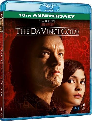 The Da Vinci Code - 10th Anniversary Edition bluray