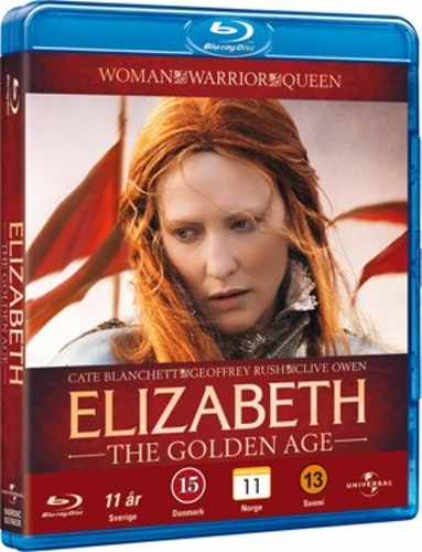 Elizabeth: The Golden Age bluray